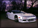 Acura NSX, Silver, Tuning