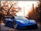 Acura NSX, Tuning, Blue