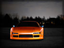 Acura NSX, Orange, Tuning