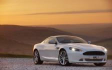 2010 Aston Martin DB9, White