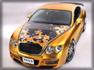 2008 Bentley Continental GTS Gold by ASI