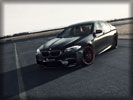 2012 BMW M5 (F10) by G-Power, Black, Tuning