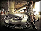 BMW M5 (E60), Cars & Girls, Tuning
