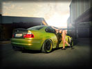 Green BMW M3 GTR (E46), Cars & Girls, Tuning, Feet, Legs