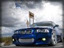 BMW E46 M3, Blue