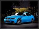 BMW E92 M3, Blue