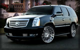 Cadillac Escalade, Black, Tuning