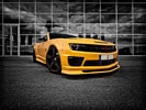 Chevrolet Camaro, Yellow, Tuning