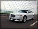 2012 Chrysler 300C, White