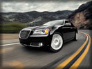 2012 Chrysler 300, Black