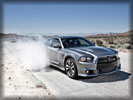 2012 Dodge Charger SRT8, Burnout