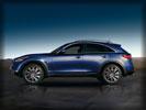 2012 Infiniti FX50, Blue