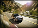 2012 Infiniti FX50 on the Road, Gray