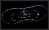 2014 Jeep Grand Cherokee SRT, Speedometer