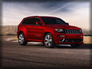 2014 Jeep Grand Cherokee SRT, Red