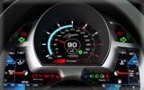 2010 Koenigsegg Agera, Dashboard
