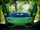 Lamborghini Aventador LP700-4, Green
