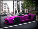 Lamborghini Aventador, Purple