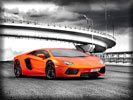 Lamborghini Aventador, Orange