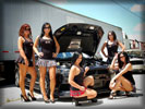 Mitsubishi Lancer Evolution X, Cars & Girls