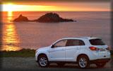 2014 Mitsubishi ASX, White, Sunset