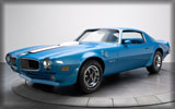 1970 Pontiac Firebird Trans Am, Ram Air III