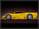 2000 Saleen S7, Yellow