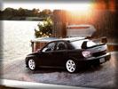 Subaru Impreza WRX STi, Black