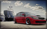 Subaru Impreza, Red & Black, Tuning