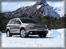 2010 Subaru Tribeca, Winter, Snow, Mountains