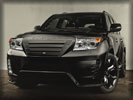 Toyota Land Cruiser 200 by INVADER, Black, Tuning
