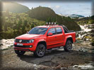 2012 Volkswagen Amarok Canyon Concept, Red, Off-Road