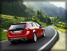 2011 Volvo V60 R-design, Red