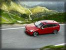 2011 Volvo V60 R-design, Red