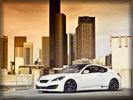 2012 Hyundai Genesis Coupe R-Spec by Mad Panda, Tuning, White