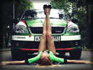 Skoda Fabia RS, Tuning, Cars & Girls, Feet