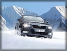 2009 Skoda Superb 4x4, Snow