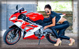 2009 Aprilia RS125, Bikes & Girls