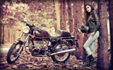 BMW R100S, Bikes & Girls
