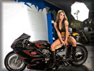 Gooichi Custom Ducati Bike, Bikes & Girls, Tattoo