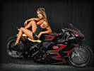 Gooichi Custom Ducati Bike, Bikes & Girls, Tattoo