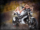 Ducati Monster 1100 Evo by Vilner, Tuning, Bikes & Girls