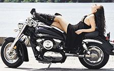 Harley-Davidson, Bikes & Girls, Boots