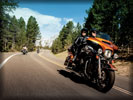 2014 Harley-Davidson Touring on the Road