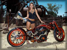 AFT Customs ER HED based on Honda VTX, Bikes & Girls