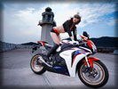 "Honda ""Fireblade"" CBR1000RR, Bikes & Girls, Asian"