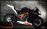 KTM 1190 RC8R, Black