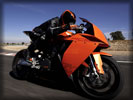 2008 KTM 1190 RC8, Orange/Black