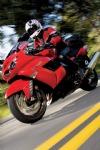 2006 Kawasaki Ninja ZX-14 on the Road, Red