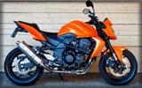 Kawasaki Z750, Orange